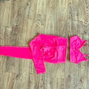 Outdoor Voices Pants - Outdoor voices matching set *new* bra & leggings